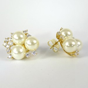 WOW! The New Pearl and Diamond Clusters - Jackie O Fifties-style!