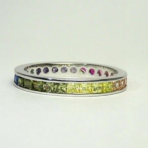 New! The Silver Rainbow Ring
