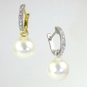They're Back!  Detachable Pearl and Hoop Earrings