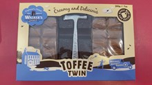 Walkers original toffee twin pack with hammer 200g