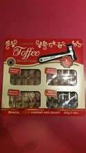 Walkers Assorted toffee 4 pack with hammer 400g