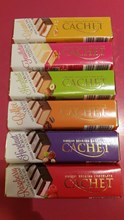 Cachet Belgian Chocolate assorted flavours 70g