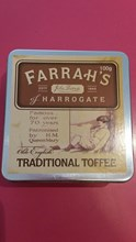 Farrah's traditional toffee tin 100g