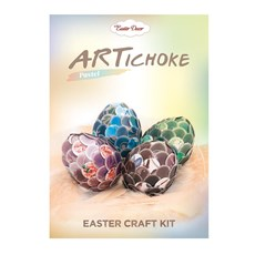 ARTichoke Pastel, Easter craft kit