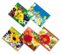 Bright Flowers, Easter Egg Shrinking Wraps