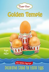 Golden Temple, Decorative Kit for Easter Eggs