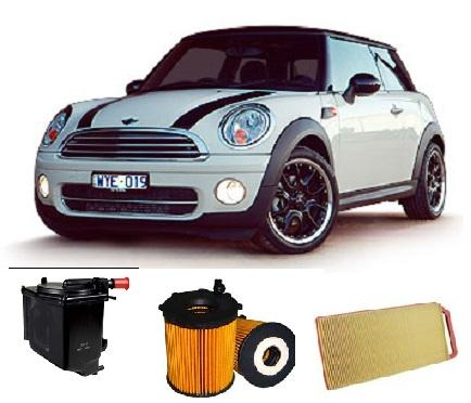 Kit4610 Filter Kit Mini Cooper Diesel R56 2007 2010 R56 Turbo Dies 4