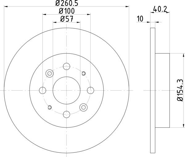 8dd 355 114081 Front Brake Disc Dr879 Dba879 KIA: Ford Au Ute Fuse Box Diagram At Hrqsolutions.co