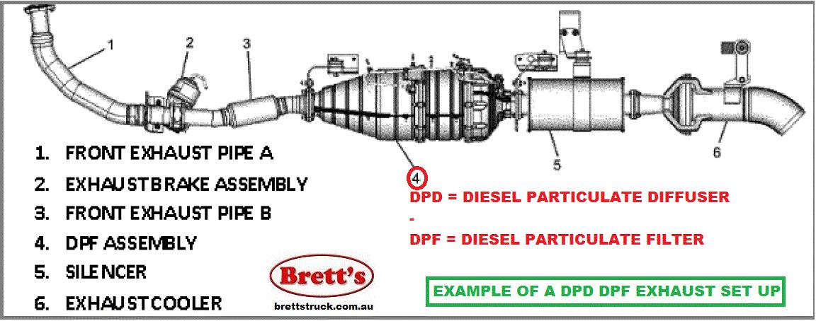 Spec 14802 202 Dpd Dpf Asm Assy Assembly Diesel