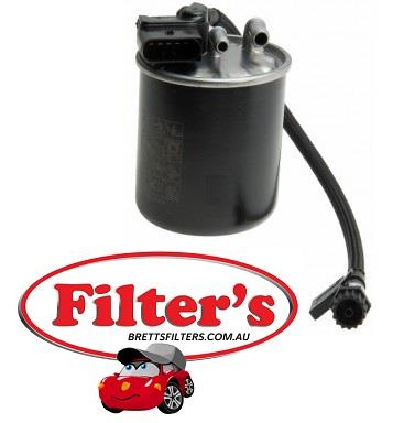 fs0098 fuel filter sprinter 416cdi 2 1l 2/10-on w906  turbo diesel  4cyl   om651-955 = w/- integrated heating & water sensor  sprinter 419cdi 3 0l v6  2/10-on