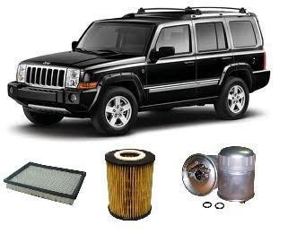 KIT9804 FILTER KIT JEEP COMMANDER 3.0L 3L CRD 2005-2010 OM642 0M642