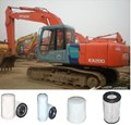 KITH002 FILTER KIT SUIT HITACHI EXCAVATOR EX200 OIL - OIL BYPASS - FUEL - AIR OUTER  FILTER KIT SET EX