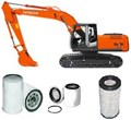 KITH003 FILTER KIT SUIT HITACHI EXCAVATOR ZX200 OIL FUEL - AIR OUTER  FILTER KIT SET EX