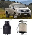 KITF201 FILTER KIT Foton Tunland Ute 2.8L TD Diesel 4Cyl 2013- P201  Turbo Diesel CUMMINS ISF CRD DOHC 16V OIL  FUEL LUBE SERVICE KIT  WFK00131