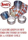 ZZZ 13340.027 CAM BEARING SET CAM BRG SET 8/1988-1999  C048L 1180256030 11802-56030 CAM BRG SET 11B 13B 14B 15B 8/88-5/99   TOYOTA B 3B 11B 13B 5C SET OF 5 BEARING SHELLS