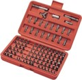 62100 100 Pc Security Bit Set 100 pcs 1/4