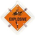 16000.DGFLIP DANGEROUS GOODS FLIP SIGN 81SF DG FLIP DGFLIP FLIP OVER SIGN 16000.024 HAZCHEM - Dangerous Goods Flip Kit DANGEROUS GOODS FLIP OVER BOOK  CIXT058-B   DANGEROUS GOODS TRANSPORT SIGNS. 15 METAL FLIP OVER SAFETY PLACKARDS IN A METAL HOLDER.