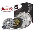DMR1671N CLUTCH KIT PBR Ci HOLDEN JACKAROO U8 02/1998-09/2004 3L 3.0 Ltr TDI 5 Speed 4JX1 UBS25 4WD 02/1998-09/2004 3L 3.0 Ltr ICTD 4JX  With Flywheel  REPLACES Dual Mass Flywheel  FREE SHIPPING*  DMR1671 R1671 R1671N GMK-7409SMF GMK7409SMF