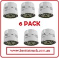 C111JX6  6 PAK PACK OIL FILTERS  Z418 BUY AND SAVE %   6PAK FOR  TOYOTA DINGO EXCAVATOR MOFFET MOUNTY C-1123 Z418 Z87A Z422 FO1053 FO1028 FO1030 FO1024 Z88 LF3338 LF3874 90915-200001 B1405 511-100-002 L10241 VO22 PO129