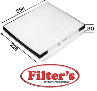 AC11409 CABIN AIR FILTER   HYUNDAI Genesis Cabin Jan 08~Dec 14 3.8 L GC4D G6DA Cabin Jan 14~  HYUNDAI Genesis Coupe Cabin Jan 09~ 3.3 L