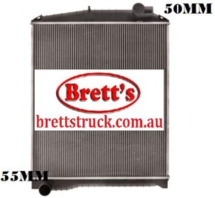 14001.177 RADIATOR HINO RANGER PRO GH 2007- 50MM IN 55MM OUT   HINO TRUCK BUS PARTS  HIN003PACM6 & S16A0E0U11 242000-7732 24200007732