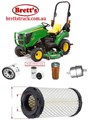 KITJ901 FILTER KIT TO SUIT YOUR MODEL JOHN DEERE John Deere Compact Utility Tractor Filter Pak - LVA21035 SUIT 1023E OIL AIR BY-PASS FUEL LUBE SERVICE KIT