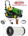 KITJ903 FILTER KIT TO SUIT YOUR MODEL JOHN DEERE John Deere Compact Utility Tractor Filter Pak - LVA21036 SUIT 1025R OIL AIR BY-PASS FUEL LUBE SERVICE KIT