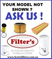 KIT65ZZ FILTER KIT TO SUIT YOUR MODEL MAHINDRA OIL AIR BY-PASS FUEL LUBE SERVICE KIT