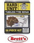 HU56K 56 PC DELUXE TYRE REPAIR KIT  Use to repair damaged tyres on vehicles  ATVs  hand carts  wheel barrows  and other tubeless tyres  Tire Repair Kit Professional on the wheel repair   TO9203 T09203 YP805D YP805-D HTRK-1 MS60K  52112 LA515B