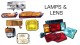 LAMPS MITSUBISHI FUSO TRUCK PARTS
