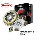 RPM0194N-SC RPM194NSC  LEVEL 4 CLUTCH KIT RPM PBR COURIER 01/1980- 1.8L MA Econovan MAZDA B2000 E1800 E2200 RX5 13B RX7 RX7 Series 1 2 01/1981- 12A a stronger more capable clutch upgraded FREE SHIPPING* R0194 R194N RPM194 RPM194N