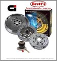 DMF2404N-CSC DMF2404N  CLUTCH KIT PBR Ci  MERCEDES BENZ SPRINTER 316 316CDI 6 Speed Sequential 8/2004- 2.7L 2.7 LTR ICTD  416 416CDI 02/2004 - 2.7 Ltr  6 Speed FREE SHIPPING*  OEM Style Dual Mass Flywheel  R2404N R2404 R2404N-CSC