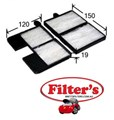AC1502SET CABIN AIR FILTER FOR TOYOTA 88508-20040 88508-20070 88508-20080 88508-20090 88508-20150 TOYOTA 8850820060 TOYOTA 88880-20010 TOYOTA 88880-20020 TOYOTA 88880-20030 TOYOTA 88880-20050  88880-20060  88880-20110  88880-44040 WIX WP9204