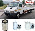 KIT5500 FILTER KIT IVECO NEW DAILY 2.5L 2.8L 1985-2002 SOME PLEASE CHECK OIL FUEL AIR