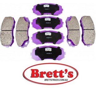 11522.303 DISC PAD SET FRONT OR REAR MITSUBISHI FUSO CANTER FE85 FE85D 2008- MK585937 SUMITOMO M9010 MK528486 BTP BRAND DISC PADS THE PADS THAT STOP WE ARE THE OFFICIAL DISTRIBUTOR OF BTP BRAND PARTS