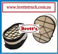 A0916 AIR FILTER MITSUBISHI FUSO GREAT P636989 P844348 0M457 OM457 FS52S FV54S FP54S 2012- AIR120  FILTERS   WA5298 3A4626