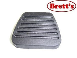 15775.007 PEDAL PAD CLUTCH OR BRAKE MITSUBISHI CANTER FE639  	FEA61 	FEB21 	FEB21  FEC91  	FE537 1 	FEA21 413 EURO 5 2011- 	BE64DJ ROSA BUS 2012-  	FE339  FE434 1986-1991