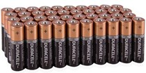 Duracell Coppertop Battery 1.5V AA - 40 Pack