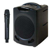 Promic PA-60W Portable Wireless PA System - Bluetooth & CD/DVD