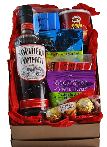 Southern comfort gift hamper gift hampers australia christmas southern comfort gift hamper negle Choice Image