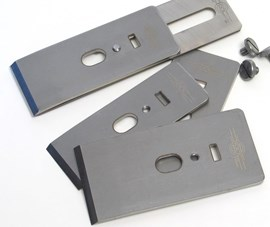 """Hock Blade 60mm 2-3/8"""" (suits #4-1/2 to #7 ) O1 High Carbon Plane Blade"""