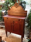 Antique Australian Colonial Cedar Chiffonier Sideboard Meat Safe c1800's