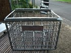 Vintage Australian Pub Brewery Tooth & Co Beer Bottle Galvanised Wire Crate