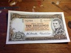 AH 53  Australian 1960's 10 Shilling Banknote Uncirculated One Owner
