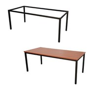 Kellys - Express Steel Frame Table Various Sizes & Colours