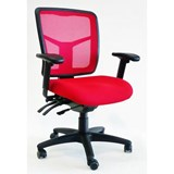 Rio Ergonomic Coloured Mesh Chair with Arms Ergonomic Office Chair