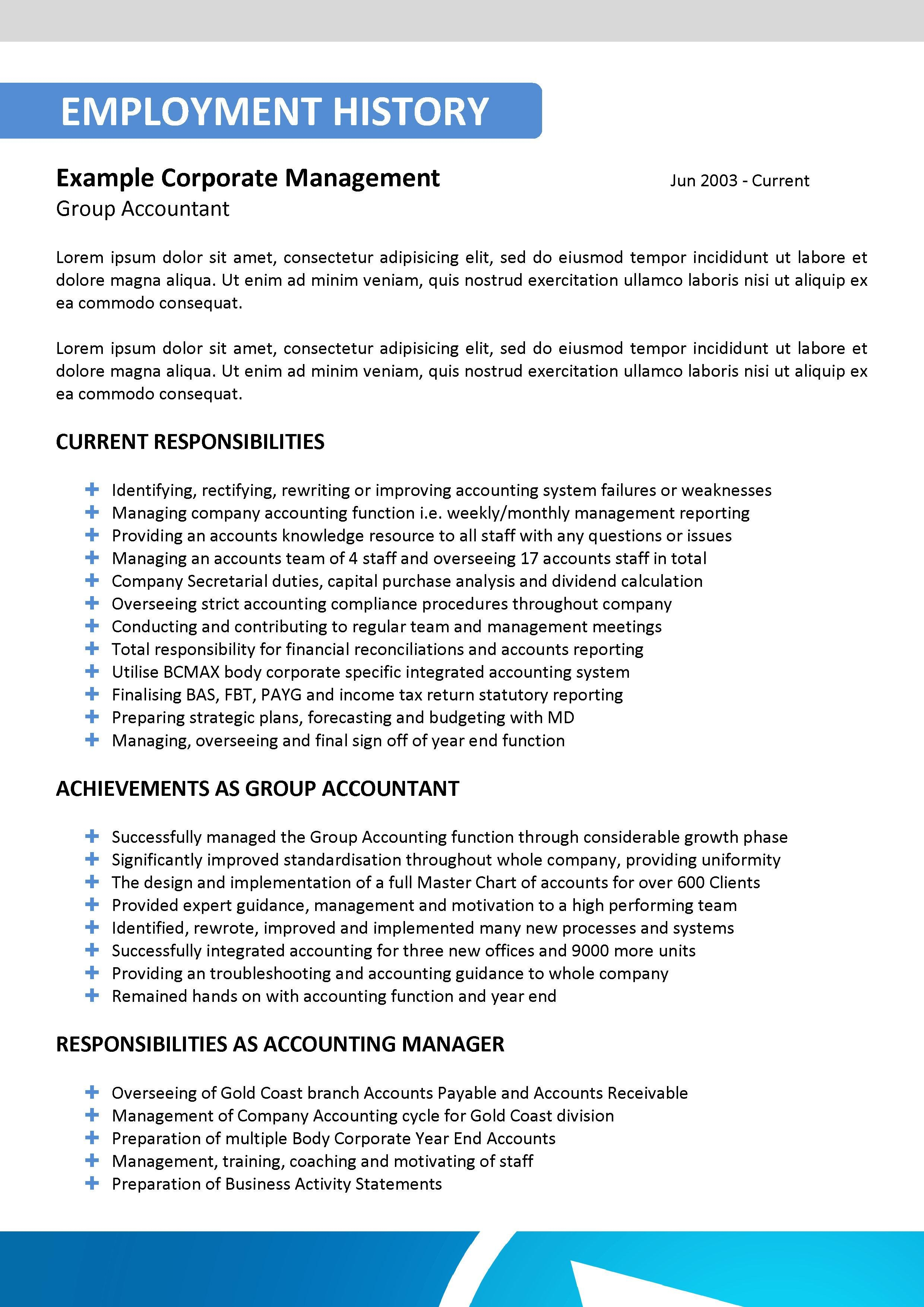 It Resume it resume or software development resume Blue It Resume Template 018