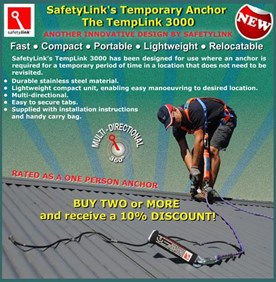 Temporary Roof Anchor - TempLink 3000