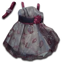 Cinderella 2 Pieces Formal Dress Set - Baby Girls Clothes