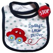 Daddy's Little Driver Bib - Babies Accessories